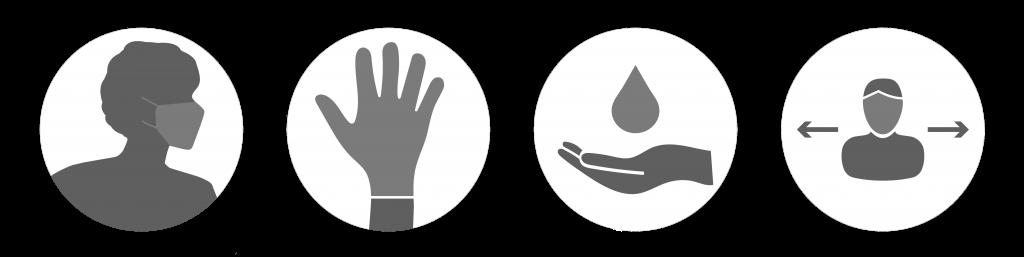 chambres d'hotes avec gestes barrières respectés à la réole